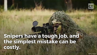 Sniper Makes a Mistake, Gets a Missile in Return - Video