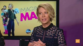 Jenna Elfman talks about returning to ABC for Imaginary Mary - Video