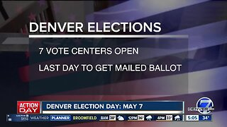 Vote centers opening today for Denver's election next week