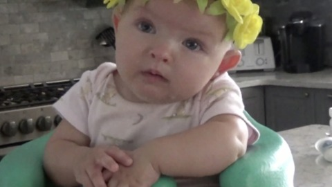 "Baby girl gets super emotional to Kesha's ""Praying"""