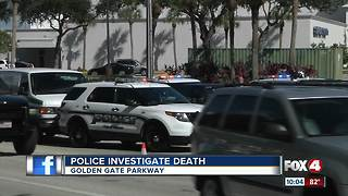 Police Investigate Death in Golden Gate - Video