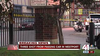 Officers shoot suspect in Westport - Video