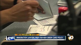 Immigration lawyers prep for new green card policy