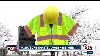 Work Zone Safety Awareness week to prepare Hoosiers to drive safe