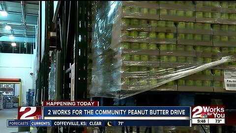 2 Works for the Community Peanut Butter Drive