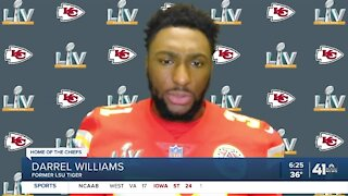 Chiefs' Darrel Williams can't recall a game without facing a former LSU teammates