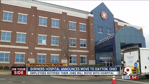 Shriners Hospitals for Children will move to Dayton