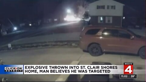 Unknown suspect tries to blow up Trump supporters home!