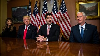 Speaker of the House Paul Ryan Meeting President Elect Trump in New York - Video