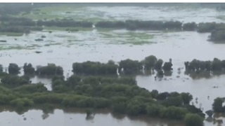 Aerial Footage Shows Extensive Flooding in Northern Territory - Video