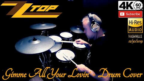 ZZ TOP - Gimme All Your Lovin' - Drum Cover