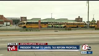 President Trump to roll out his plan for tax cuts, reform in Indianapolis on Wednesdayo - Video