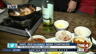 SWFL Restaurant Week Continues - Video
