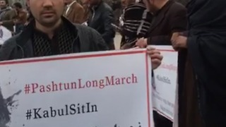 Pashtuns Demanding More Rights in Pakistan During Kabul Solidarity March - Video