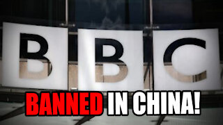 BBC News BANNED in China!