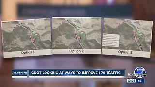 CDOT looking at ways to improve I-70 traffic - Video