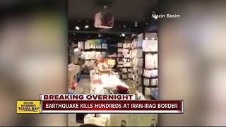 Powerful earthquake kills over 328 along Iran-Iraq border - Video