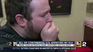 All of continental U.S. affected by flu - Video