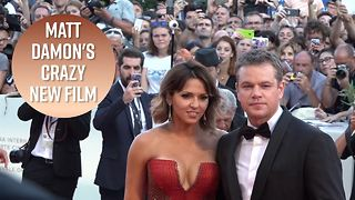 Matt Damon opens Venice Film Festival with 'Downsizing' - Video