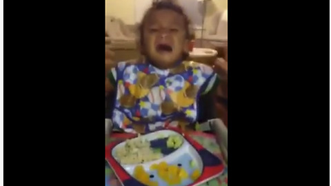 Baby throws temper tantrum when denied Coca-Cola