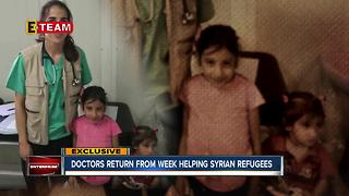 Local doctor helps Syrian refugees - Video