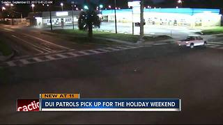 DUI patrols are on the prowl Labor Day Weekend - Video