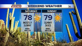 Chief Meteorologist Erin Christiansen's KGUN 9 Forecast Friday, November 17, 2017 - Video