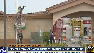 UPDATE: 7 cremated bodies recovered after Chandler fire - Video