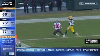 Buccaneers wide receiver Scotty Miller's dad not surprised by son's big plays vs. Green Bay