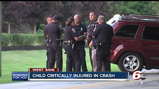 4-year-old injured in car accident - Video