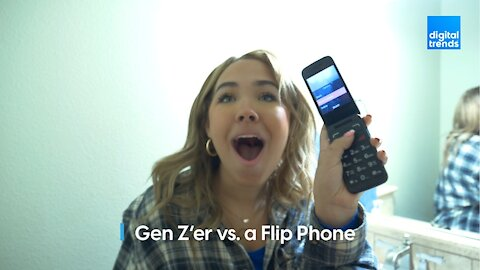 Gen Z'er vs. a Flip Phone
