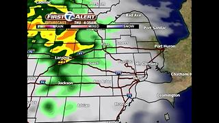 Sun today, rain ahead - Video