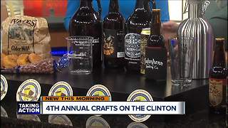Crafts on the Clinton - Video