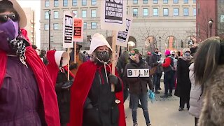 Women's March Cleveland 2021 brings awareness to women's issues across the country