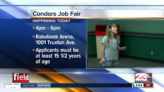 Condors Job Fair - Video