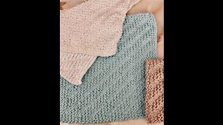 Knitted washcloth pattern - FREE KNITTING PATTERN