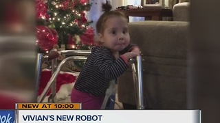 Life-changing assignment: Local students help little girl defy medical odds - Video