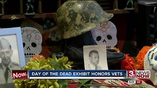 Day of the Dead exhibit in Lincoln honors vets - Video