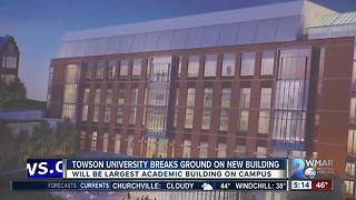 Towson University breaks ground on new science complex - Video