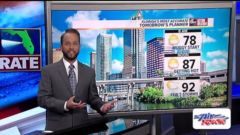 Florida's Most Accurate Forecast with Jason on Saturday, July 20, 2019