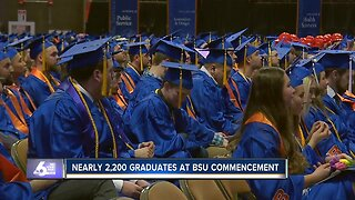 Boise State winter commencement ceremony