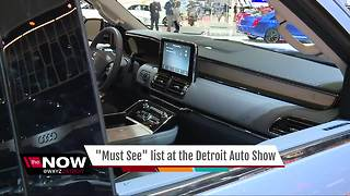 Must See list at Detroit auto show - Video
