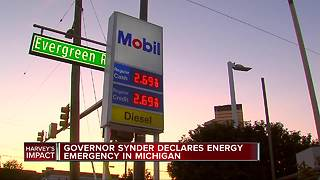 Michigan Governor Rick Snyder declares energy emergency - Video