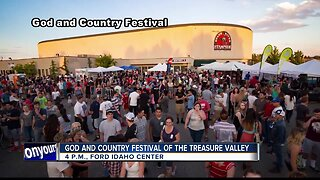 God and Country Music Festival happening June 26