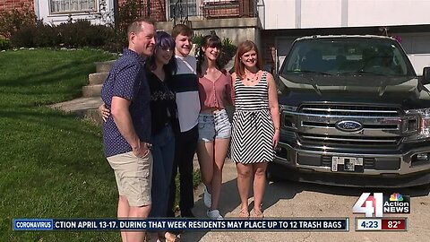 Newly blended family adjusts to stay-at-home order