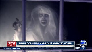 13th Floor opens Christmas Haunted House
