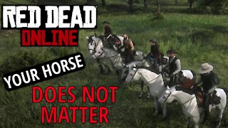Your Horse Does Not Matter In RDO