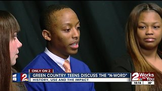 Oklahoma teens discuss use of 'N-word'