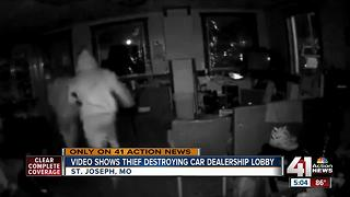 Thieves caught on camera breaking into St. Joseph business twice in one week - Video