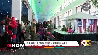 Cincinnati Fall Feast offers more than a Thanksgiving meal - Video